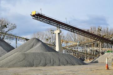 minning industry gravel quarry conveyor