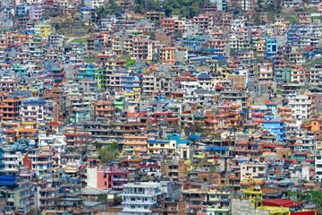 View over Kathmandu, Nepal, Asia