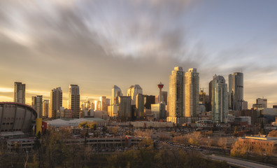 Skyline, Calgary, Alberta, Canada, North America