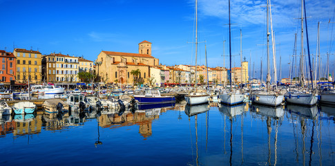 La Ciotat, Old Town and port, Provence, France