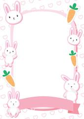 Cute Bunny Frame