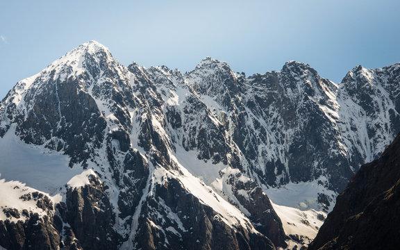 Snowy Mountains New Zealand