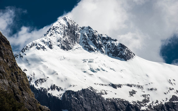 Snow Capped Mountain, New Zealand