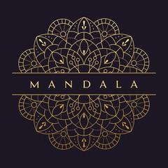 Mandala flower beautiful vector vintage   decorative element oriental illustration