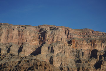 Grand Canyon West Rim - View from Bottom of Canyon