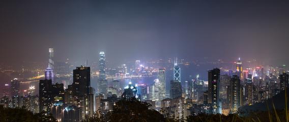 Hong Kong cityscape skyline