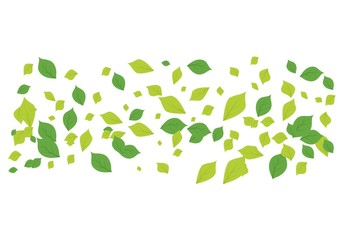 Leaf background icon illustration