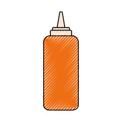 ketchup  vector illustration