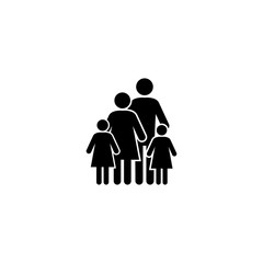 Family vector icon