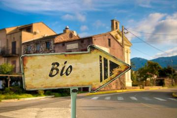 Schild 198 - Bio