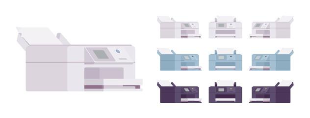 Office laser printer set