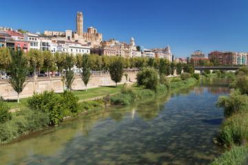 River Segre through Lleida