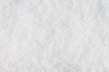 high angle view of snow texture background.