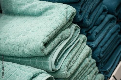 serviettes de toilette dans un magasin de décoration\