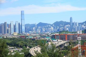 Skyline of Hong Kong