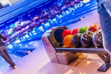 Balles de bowling