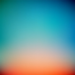 Colorful Sunset Gradient Vector Background,Simple form and blend of color spaces as contemporary background graphic backdrop