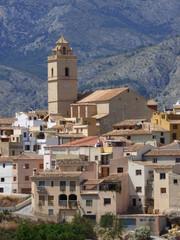 Polop, pueblo de Alicante (España) en la Comunidad Valenciana situado en la comarca de la Marina Baja.