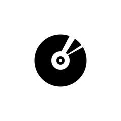 Disk vector icon