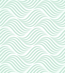 Abstract geometric pattern with lines. A seamless vector background. Graphic blue and white pattern...