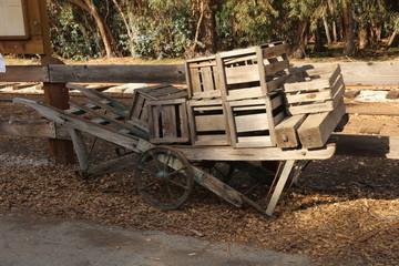 Railroad wheelbarrel