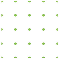 Seamless background flat design green cabbage on white stock vector illustration