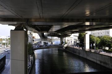 天井のある川
