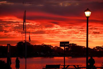 Sunset at Morro Bay, CA