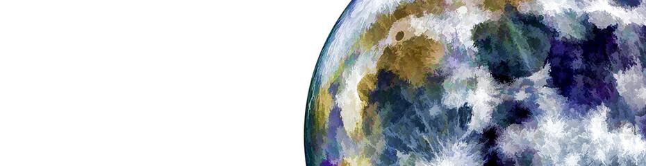 抽象的な地球の背景