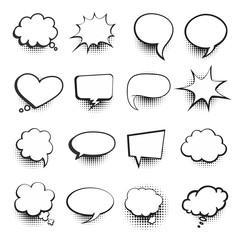 Comic Speech Bubbles Pack