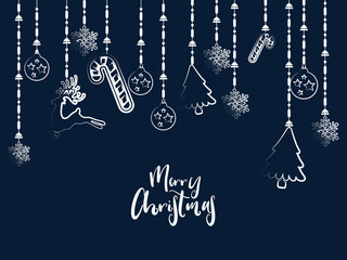 nice and beautiful abstract for Merry Christmas with nice and creative design illustration.