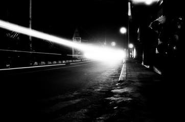 street, light, black white, car, manual photo, manual gear, vintage, roll film, photography