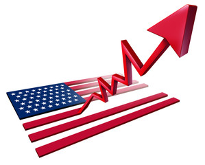 Booming American Economy Growth