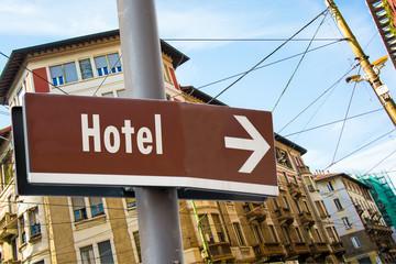 Schild 223 - Hotel