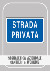 Segnaletica Aziendale - Cantieri & Working