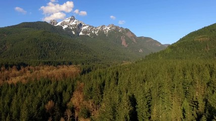 Wall Mural - White Horse Mountain North Cascades Darrington Washington Sauk River Valley