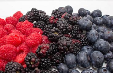 Raspberries Blueberries and Blackberries 2
