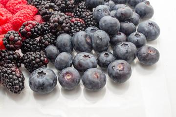 Blueberries, Blackberries