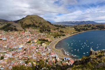 Copacabana en bolivie