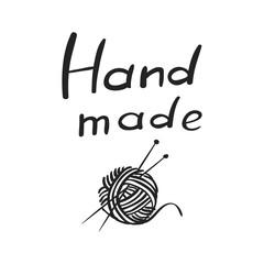 Vector hand drawn icon of handmade