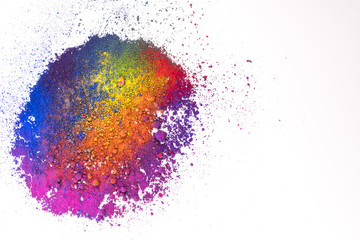 natural multi colored pigment powder