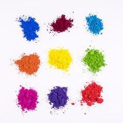 natural colored pigment powder