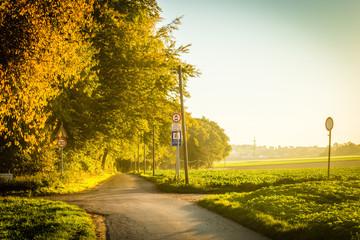 a field road