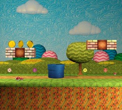 3D Video game platform levels