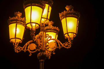 Street lamps and lighting