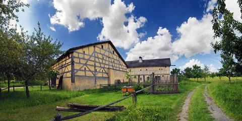 Alter fränkischer Bauernhof
