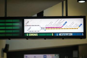Belgian subway network