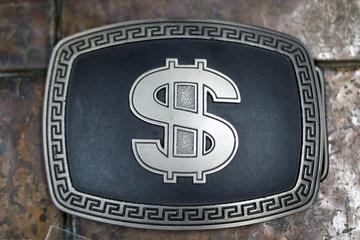 Dollar Sign Buckle