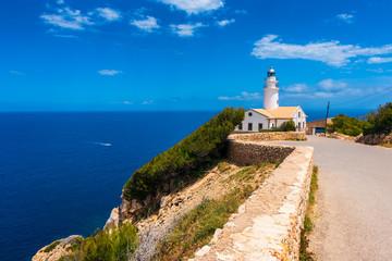 Lighthouse in Capdepera Mallorca Spain
