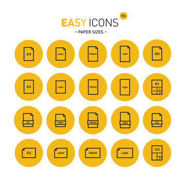 Easy icons 15c Papers